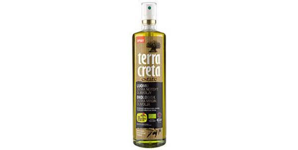 Økologisk extra virgin olivenolje på spray