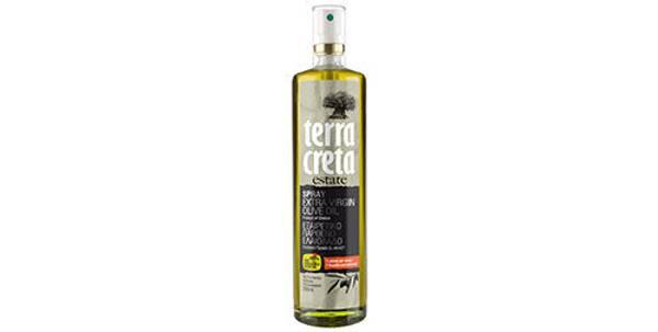 Extra virgin olivenolje på sprayflaske