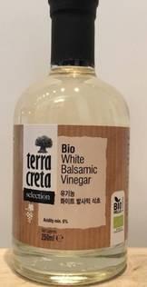 Økologisk hvit balsamico