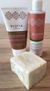 Bilde av Shampoo, balsam & olivensåpe
