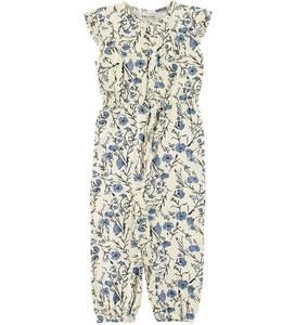 Bilde av Jente buksedrakt Charlot i ashley blue fra Mini A Ture