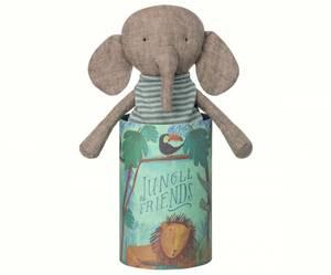 Bilde av Jungle friends bamse elephant i pen gaveeske fra Maileg