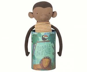 Bilde av Jungle friends bamse monkey i pen gaveeske fra Maileg