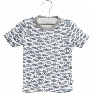 Bilde av Baby gutt t-shirt Wagner ivory fra Wheat