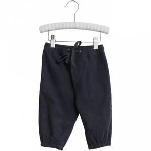 Bilde av Baby gutt bukse Gustav Lined i dark blue fra Wheat