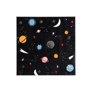 Bilde av Servietter To The Moon, 16 stk fra Meri Meri