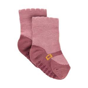 Bilde av Jente baby ballerina sokker i old rose  fra Noa Noa