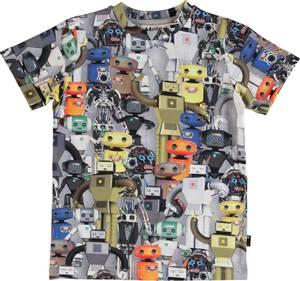 Bilde av Gutt t-shirt Ralphie robots fra Molo