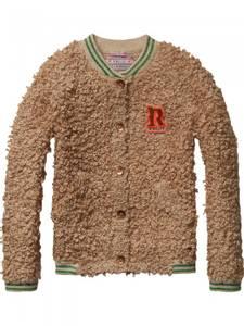 Bilde av Chunky knitted bomber cardigan fra Scotch R'belle