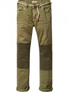 Bilde av Relaxed Slim Fit worker pants delivered with belt fra