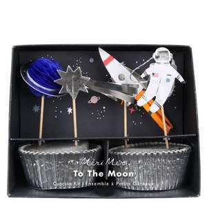 Bilde av Cake toppers astronaut TO THE MOON FRA Meri Meri