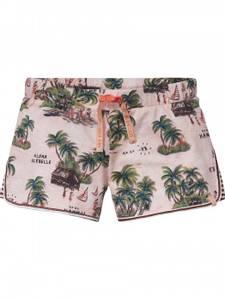 Bilde av All-overvprinted jersy shorts fra Scotch R'belle