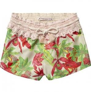 Bilde av Blomstret shorts med blonder fra Scotch R'belle