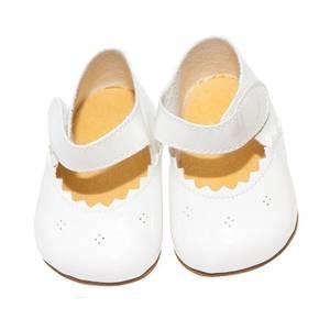 Bilde av Asi dukke sko til Leonora / Leo i hvit