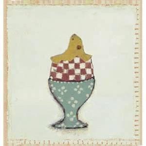 Bilde av Kort med kylling fra Maileg