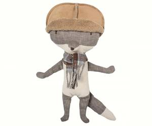 Bilde av Bamse - Mini ulv med lue og skjerf fra Maileg