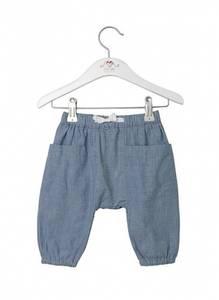 Bilde av Baby gutt bukse faded denim fra Noa Noa