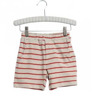 Bilde av Baby basic shorts stripete Aske paprika fra Wheat