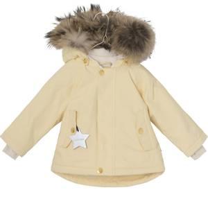 Bilde av  Wally vinterjakke med pels i Apricot Gelato fra Mini A