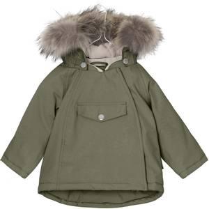 Bilde av  Wang vinterjakke med pels i Clover Green fra Mini A Ture