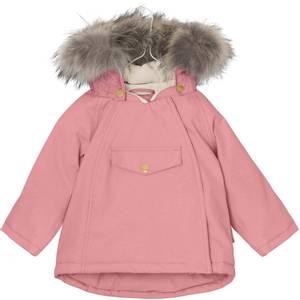 Bilde av  Wang vinterjakke med pels i Geranium Pink fra Mini A Ture
