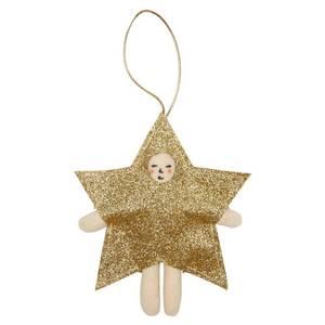 Bilde av Tree Decoration star dress up fra Meri Meri