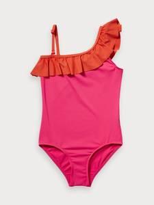 Bilde av Ruffle one shoulder swimsuit fra Scotch R`Belle