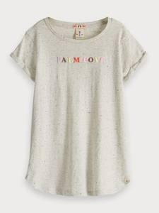 Bilde av Longer length t-shirt fra Scotch R`Belle