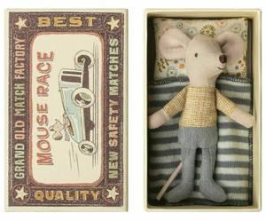 Bilde av Mus - lillebror mus i boks fra Maileg