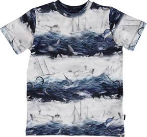 Bilde av Gutt t-shirt Ralphie sailor stripe fra Molo