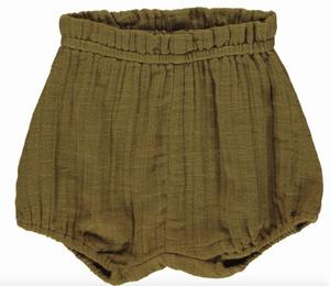 Bilde av Pava Dark Olive shorts / bloomers fra MarMar