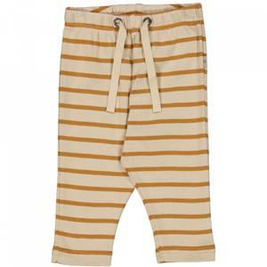 Bilde av Baby basic bukser stripete Nicklas almond fra Wheat