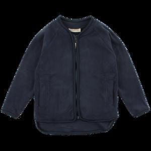 Bilde av Fleece jakke i navy fra Nordic label
