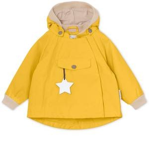 Bilde av Wai jakke fleece Bamboo Yellow fra Mini A Ture
