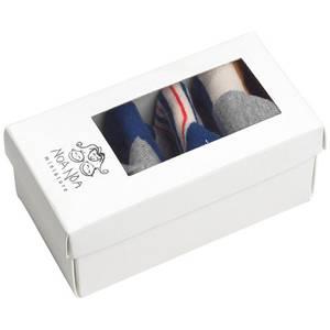 Bilde av  Baby gutt sokker 3 pakkning multicolour fra Noa Noa