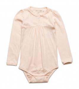 Bilde av Baby jente body Elinore i cream Tan fra Mini A Ture