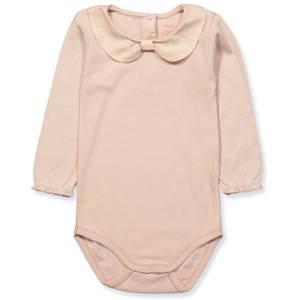 Bilde av Baby jente body med krave i rose dust fra Noa Noa