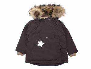 Bilde av  Wang vinterjakke i Licorise med pels fra Mini A Ture