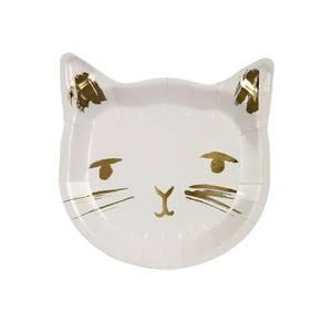 Bilde av Papptallerken katt 8stk fra Meri Meri