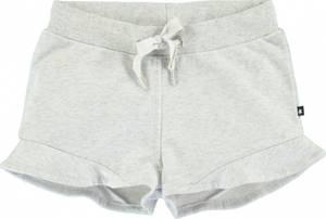 Bilde av Jente shorts Ally i light grey melange fra Molo