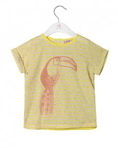 Bilde av Jente t-skjorte i Buttercup fra Noa Noa