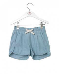 Bilde av Jente shorts i denim light blue fra Noa Noa