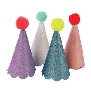 Bilde av Party glitter hatter 8 stk fra Meri Meri