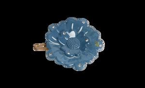 Bilde av Flower clip Jeans blue