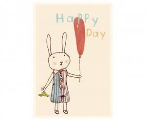 Bilde av Happy day kort fra Maileg