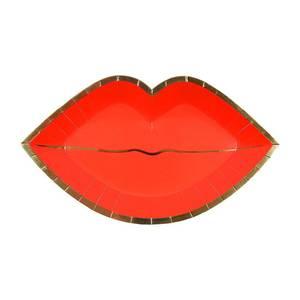 Bilde av Papptallerken munn 8 stk fra Meri Meri