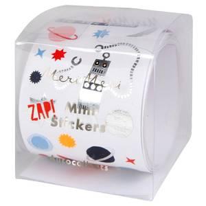 Bilde av Rull med klistermerker mini space fra Meri Meri