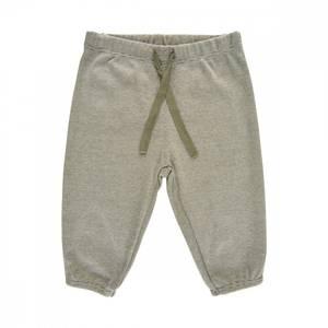 Bilde av Baby gutt bukse dusty olive stripete fra Noa Noa