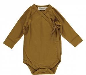 Bilde av Baby omslagsbody Belita golden olive fra MarMar