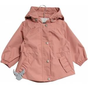 Bilde av Jente baby jakke Elma i soft rouge fra Wheat